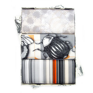 Geo Bug Set Of Three Handkerchiefs