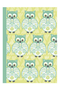 Decorative Owl Notebook