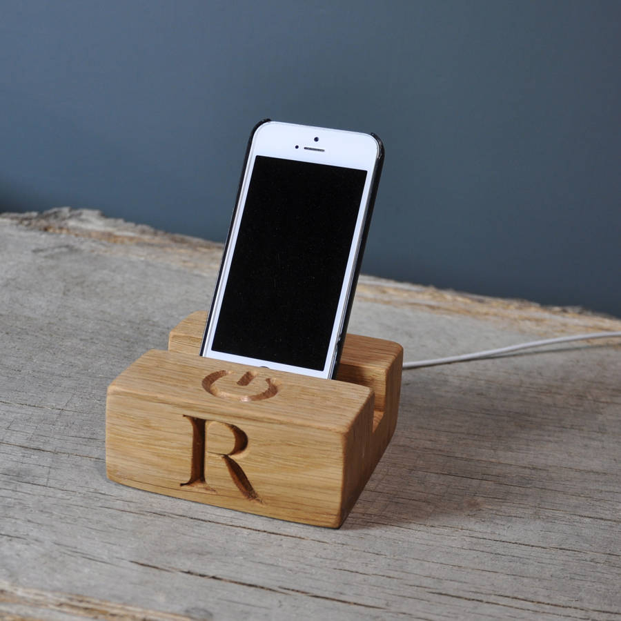 Phone Charging Stand Dock By The Oak Amp Rope Company