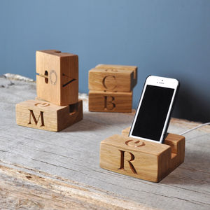 Phone Charging Stand/Dock - personalised