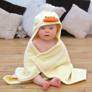 Duck Baby Hooded Towel - for babies