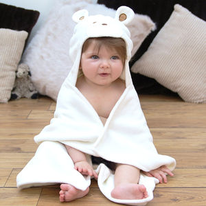 Teddy Baby Hooded Towel - bath and bedtime gift ideas