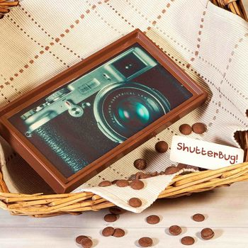 Shutterbug Retro Camera Chocolate Gift