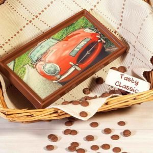 Classic Car Belgian Milk Chocolate Gift - home sale
