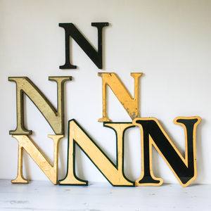 Vintage Shop Letter 'N' - room decorations