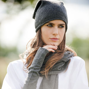 Pure Cashmere Scarf - winter warmers