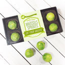 Personalised Chocolate Brussels Sprouts