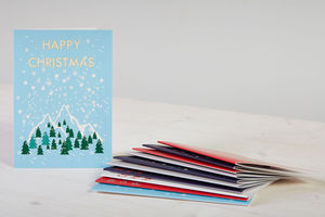 Mixed Pack Of 12 Christmas Cards - cards