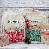 Christmas Personalised Present Sack - christmas decorations