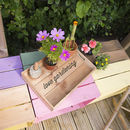 Personalised Garden Tray