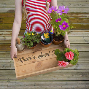 Personalised Garden Tray - tools & equipment