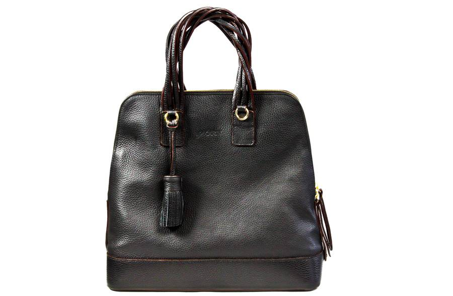 Leather Dresden Handbag