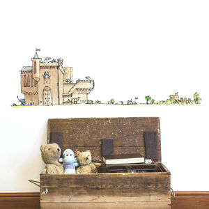 'The Bfg' Castle Quentin Blake/Roald Dahl Wall Sticker