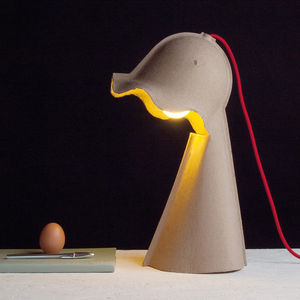 Recycled Paper Desk Lamp - table lamps