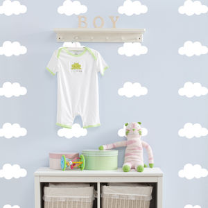 Cloud Decorative Wall Stickers - wall stickers