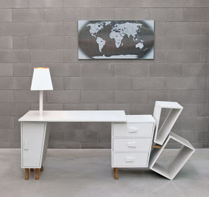 Deconstructed Extendable Desk - office & study