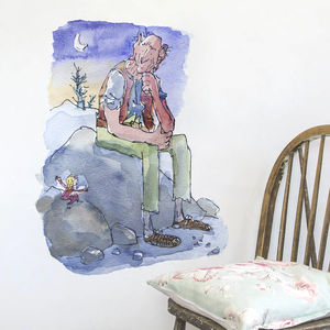 The Bfg Roald Dahl/Quentin Blake Wall Sticker - wall stickers