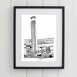 Tate Modern London Print - architecture & buildings