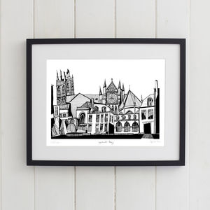 Westminster Abbey Print - architecture & buildings