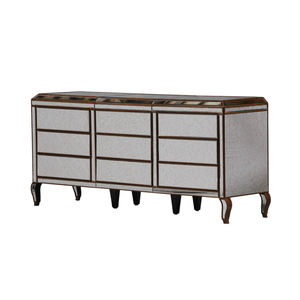 Large Nine Drawer Venetian Chest With Gold Trim - furniture