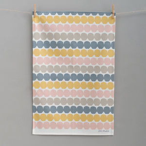 Bobbles Tea Towel