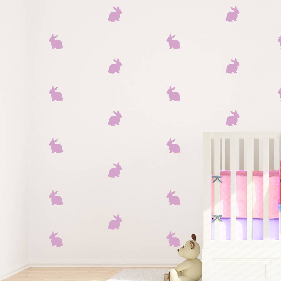 Bunny Decorative Wall Stickers