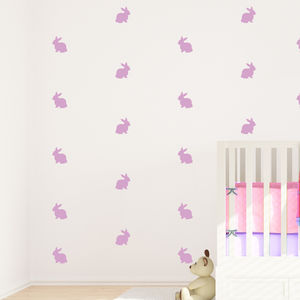 Bunny Decorative Wall Stickers - decorative accessories