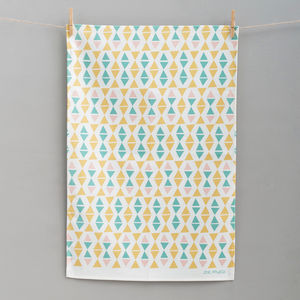Off Kilter Tea Towel