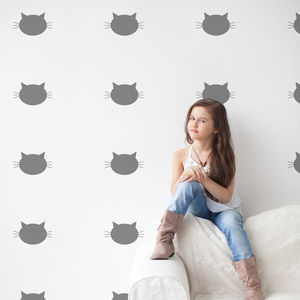Cats Decorative Wall Stickers - wall stickers