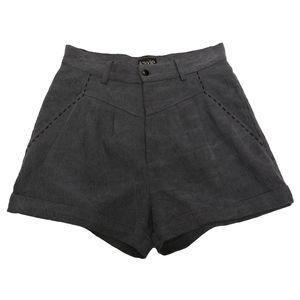 Blue Stitch Detail Shorts