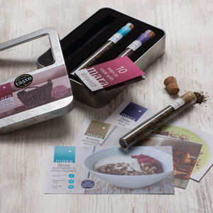 Seaweed Seasoning Gift Tasting Tin - boxes & hampers