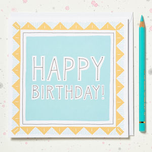 Boy's Happy Birthday Card - birthday cards