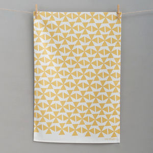 Windmills Tea Towel