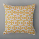 Windmills Cushion Yellow