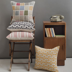 Windmills Cushion Cover - patterned cushions