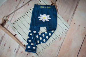 Daisy Baby Leggings - clothing