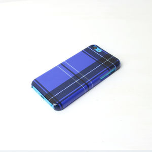 Blue Tartan Phone Case - phone & tablet covers & cases