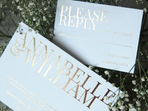 Annabelle Wedding Invitation Suite - parties