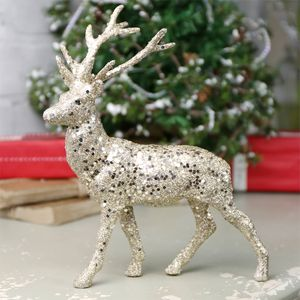 Glitter Reindeer Ornament - christmas home accessories