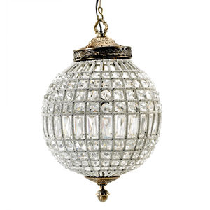 Globe Chandelier In Two Sizes