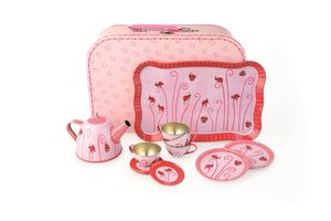 Play Tea Set And Suitcase - creative activities
