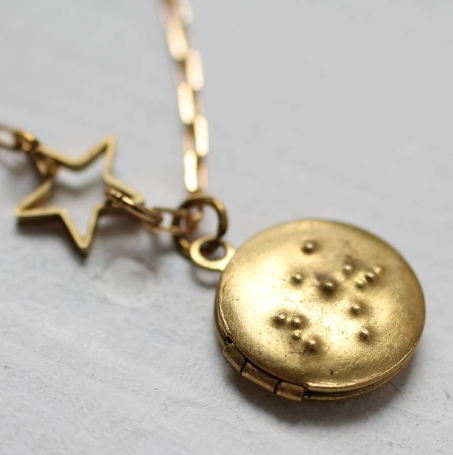 Personalised Star Locket