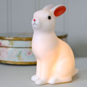 Woodland Rabbit LED Night Light - lighting