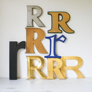 Vintage Shop Letter 'R' - decorative letters