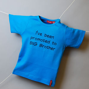 Personalised Big Brother / Sister T Shirt - t-shirts for babies