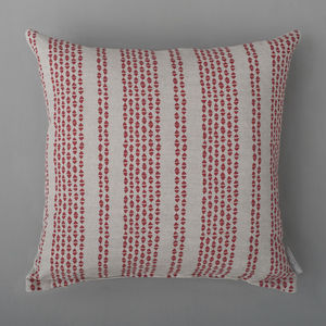 Triangle Row Cushion Cover - bedroom