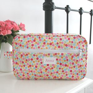 Candy Personalised Wash Bag - wash & toiletry bags