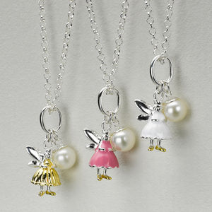 Fairy Wish Silver Necklaces - children's accessories