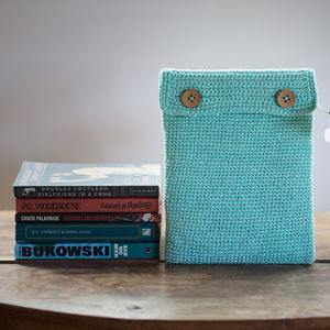 Organic Cotton Tablet Case - bags & purses