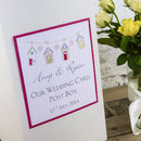 Personalised Beach Hut Wedding Post Box